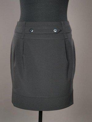 Новая юбка в школу или в офис ЧЁРНОГО цвета. Фото внутри.