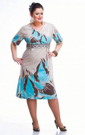 Летнее платье на 52 - 54 размер. Цена НИЖЕ Сп!!!