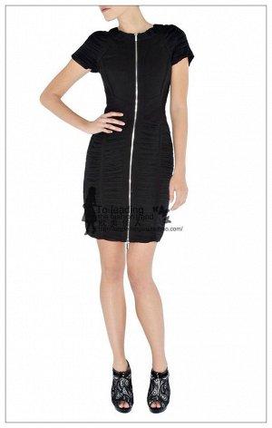 Красивое черное платье КМ
