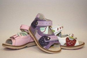 ортопедия, сандали девочке на первые шаги