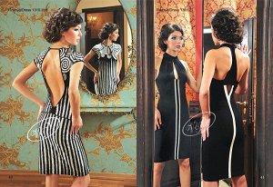 Стильное платье из польской коллекции по старой цене