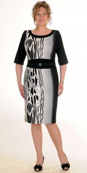 Платье из вискозного трикотажа. Р-р 52-54