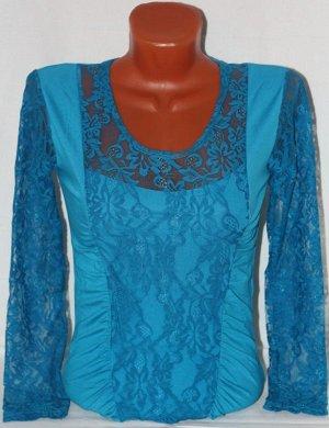 Фиолетовая блузочка 46-48 размера