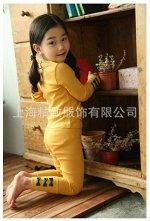 Желтая кофта и лосинки с батиками