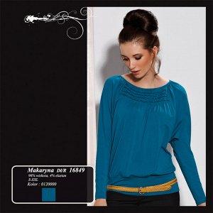 Шикарная польская блуза по старому курсу.Полностью соответствует фото.Размер 52-54.