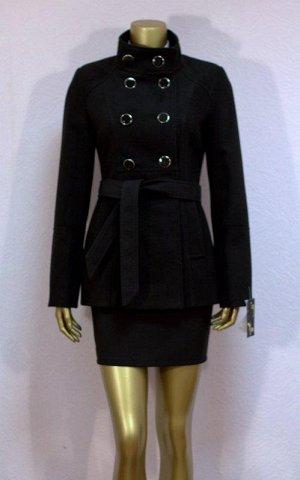 Классическое черное пальто пр.Россия