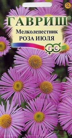 Цветы Мелколепестник Роза июля/Гавриш/цп 0,05 гр.