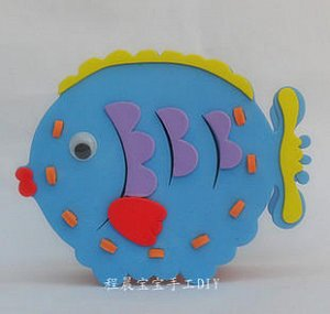 """Набор для изготовления коробочки """"Рыба 2"""""""