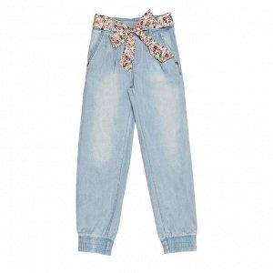 Брюки джинсовые детские для девочек NIOBE-1 голубой
