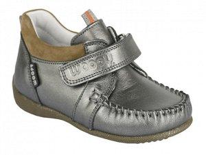 Ботиночки-мокасины WOOPY