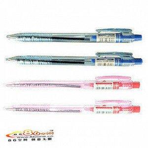 Ручка шариковая автоматическая прозрачная