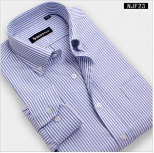 Рубашка муж., х/б кор.рукав, в полоску, по вороту 41 на 48 разм., рост 176-180