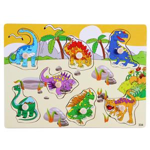 Динозавры Размер 30*22 см, с небольшими ручками для вынимания/вкладывния. Количество вынимаемых картинок на вкладышах разное.