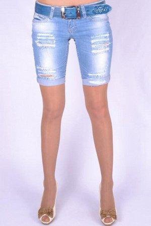 Шорты джинсовые на ОБ до 89 см. Скидка!