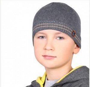 Осенняя шапка на 5-летку