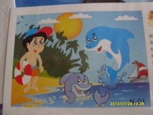 Мальчик и дельфины