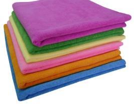 Микрофибра  для уборки и бани, КПБ, подушки, полотенца — Микроволокно — Салфетки и тряпки