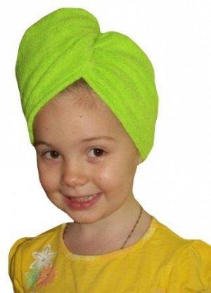Тюрбан для сушки волос детский