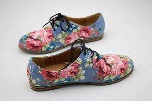 Очень красивые туфли (джинс)