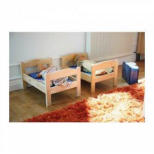 Деревянная кроватка для куклы ИКЕЯ