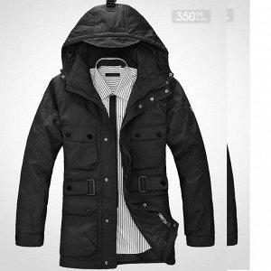 Куртка зимняя влагонепроницаемая черная