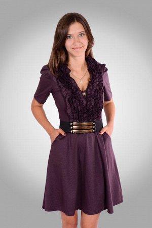 Хорошенькое платье р-р 44