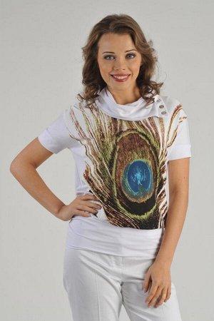 блуза как на фото L-Collection на 48р.