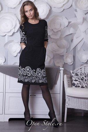 Платье, трикотаж