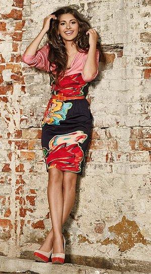 Интересное платье на 46 размер