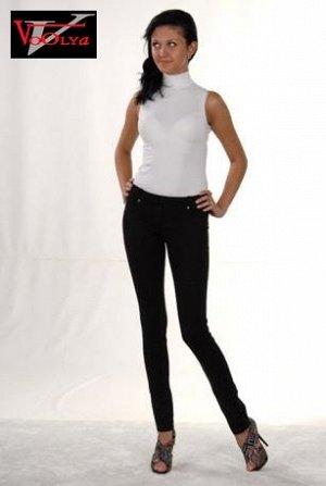 брюки трикотажные черные