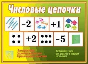 Развивающая числовая игра для дошколят и младших школьников! хорошая!