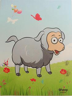 Овца Размер 23*17 см.