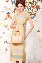 Льняное платье с 50% скидкой покупала