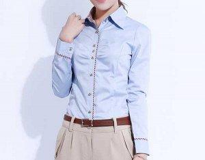 Голубая рубашка, добавила реальные фото