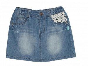 Юбка джинсовая рост 146