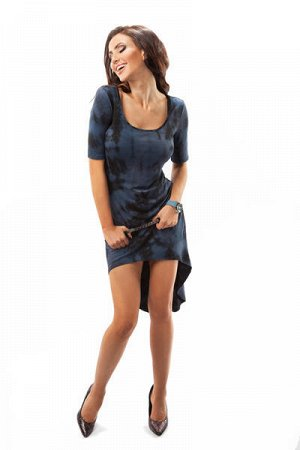 очаровательное трикотажное легкое платье, на 42-44