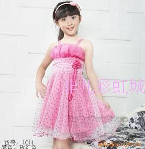 Платье с сердечками