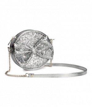 Сумочка H&M серебро
