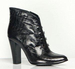 Кожаные ботинки, р. 37