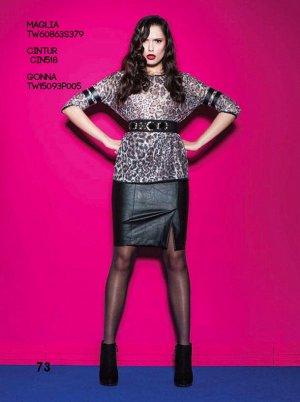 Кожаная юбка (Италия) на 46 русский размер Возможен обмен на женские вещи 42 размера.