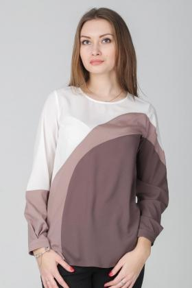 блуза из креп-шифона