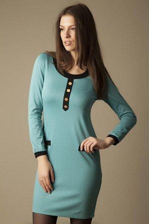 Платье стильное,трикотаж приятный к телу, разм.48-50