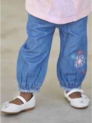 Штанишки из тонкой джинсы