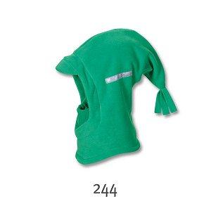 Шапка-шлем синего цвета,цена ниже сп.