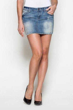 Джинсовая юбка 40-42 размер