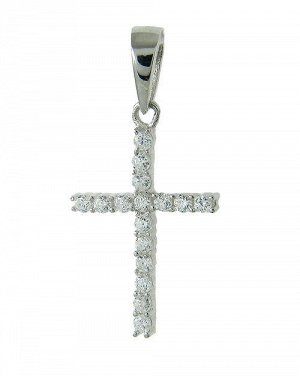 Продам крестик серебро