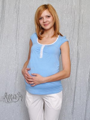 футболка для беременных 48-50 рост 164-170см + подарок