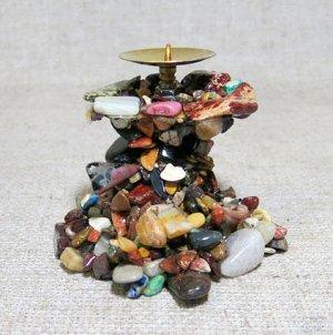 Настольный сувенир из природных уральских камней.