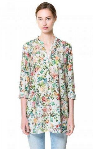 Блузка-рубашка как на фото на 42 размер