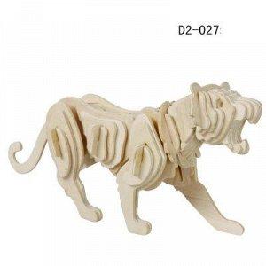 Тигр Размер упаковки 23*31 см. Без красок.